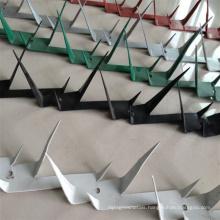 Security Metal Cheap Anti Climb Razor Spikes Fences on Wall Top