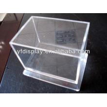 Plexiglas-Schaukasten des heißen Verkaufsqualität, klarer Acrylanzeigenkasten