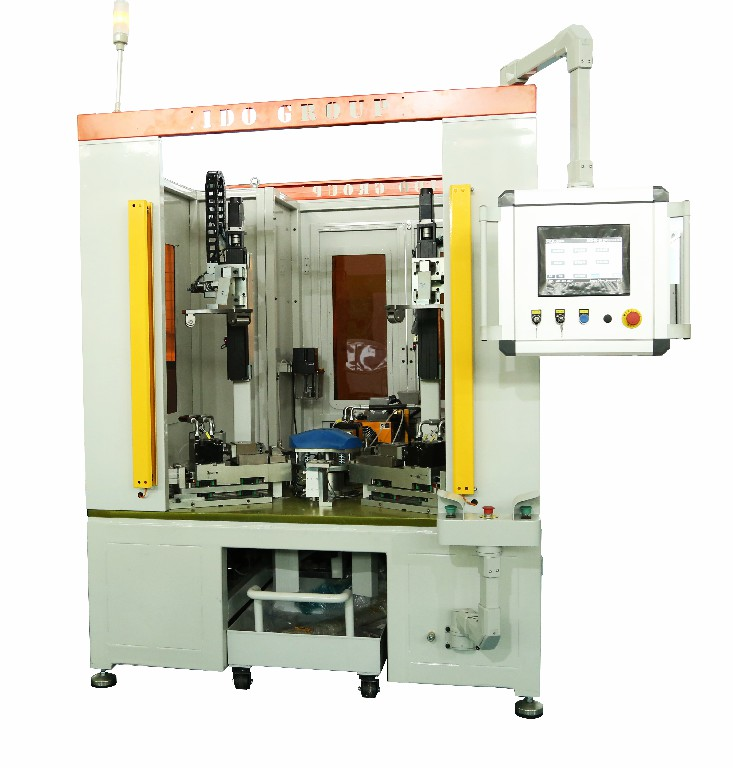 Wm Drum Automatic Screwing Machine