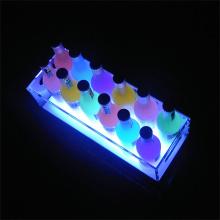 Display de vino de mostrador LED Light Liquor Display Stand