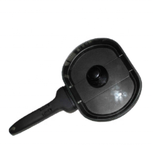 Aluminum die casting Non-stick fry omelet pan/flipping pan with glass lid