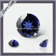 El precio bajo creó la piedra preciosa azul del zafiro