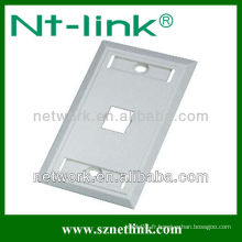 US Type Single Port Network RJ45 Faceplate 70 * 115mm