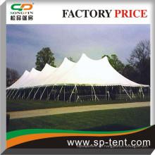 1000 Seater Pegs & Pole King Size Pole Zelt 60x120 für offene Veranstaltungen verwendet