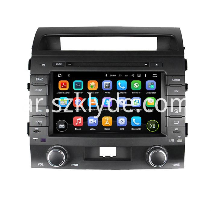 Car audio Player for Land Cruiser 200