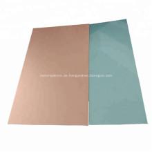 4047 5052 fr4 Kupferbeschichtete Platte auf Aluminiumbasis