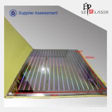 Arco-íris Printable holograma laminado de papel em folhas de embalagem