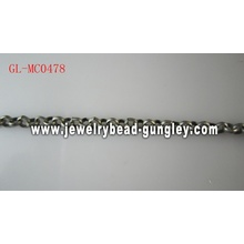 Antique Pewter color metal chain