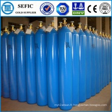 Cylindre à gaz à haute pression de l'oxygène 40L (ISO9809-3)