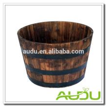 Audu Outdoor Flower Box Wood Planter Boxes