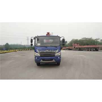 Euro 6 Truck Mounted Hydraulic Crane For Sale