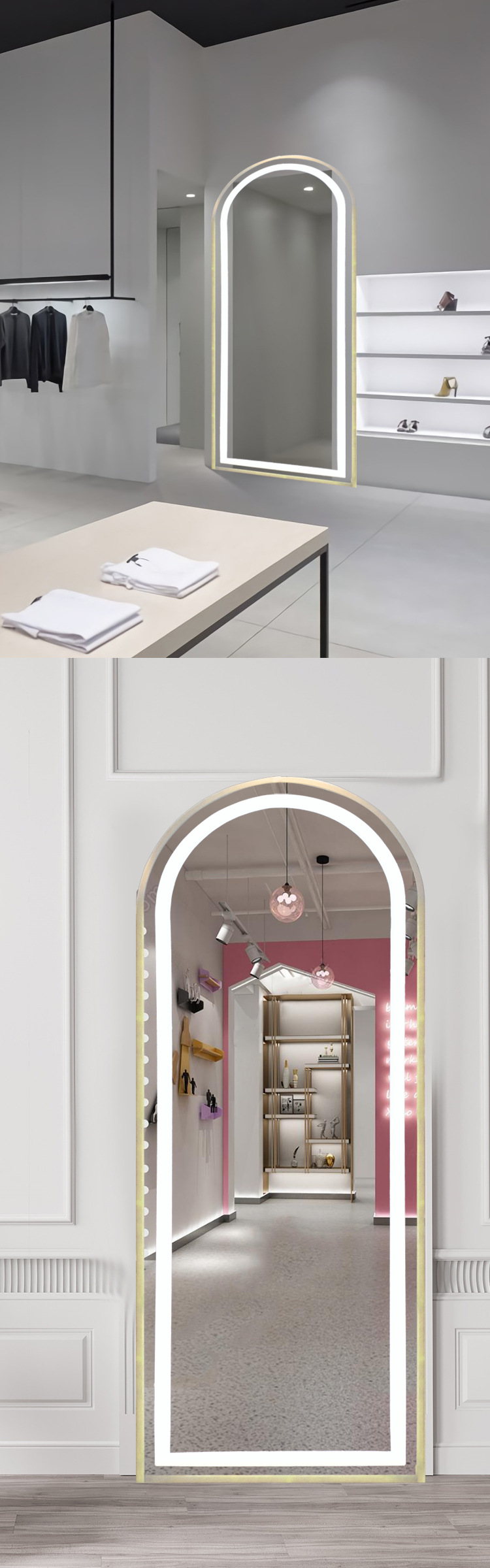 Application Small Vanity Mirror