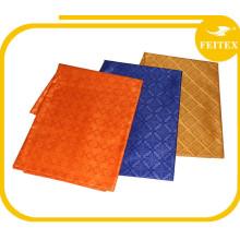 Tissu de polyester de nouvelle arrivée 100 / tissu africain de Bazin / utilisation d'Abaya Kaftan