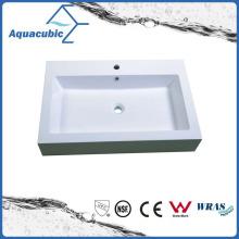Alavanca retangular de alavanca simples Polymarble Vanity Tops Acb0812