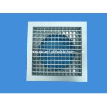 Diffuseur d'Air en aluminium avec plénum de raccordement pour tuyau d'Air