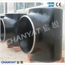 Tee de acero al carbono con placa en T (1.5837, 1.5637, 12Ni4) ASME B16.9