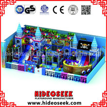 Pirate Ship Theme Indoor Amusement Equipment with Slide