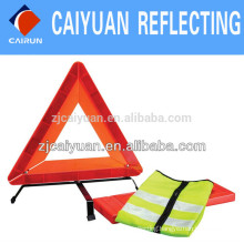 CY Warning Triangle Reflective Vest Safety Kit Security