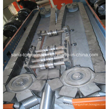 Plastic Processing Machine Single Wall Corrugated Pipe Production Line