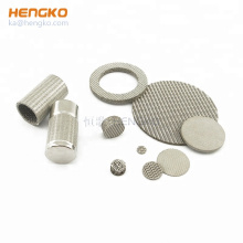 Microns Porous Sintered  Mesh Stainless Steel Wire Cloth Screen Filtration Filter Sheet