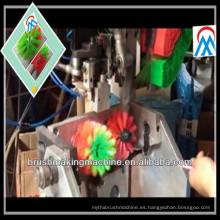 Máquina de fabricación de cepillo del retrete de 3 ejes