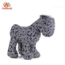 Relleno Happy Horse, China Style Plush Horse Toy
