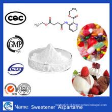 99,8% Pureza Aditivo Bulk Emulsão em pó Fábrica Preço Aspartame
