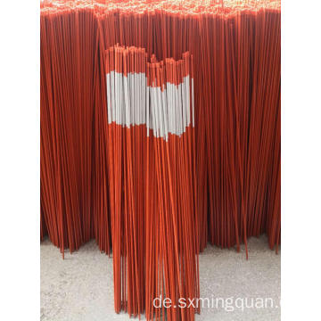 "1/4 ""x 48''Fiberglass Orange Snow Pfähle"