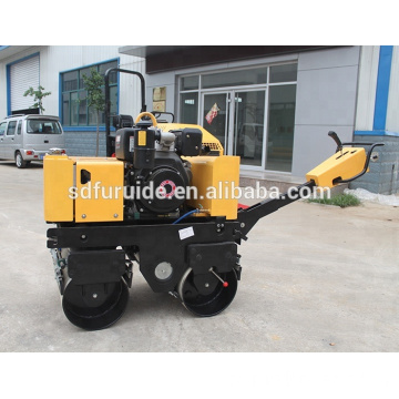 800kg Hand Guided Compact Road Roller Bomag Style Vibratory Roller (FYL-800C)
