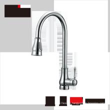 Haijun 2017 Contemporary cUPC Artistic Pull Down Brass Kitchen Sink Faucet