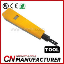 Red RJ45 RJ11 Corte de alambre Impacto Punch Down Herramienta al cable Bloque de cable LAN