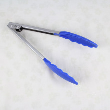 Multicolor Food Tongs with Silicone Tips