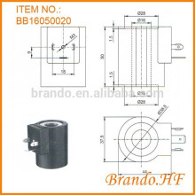 Hidráulica ac220v bobina electromagnética