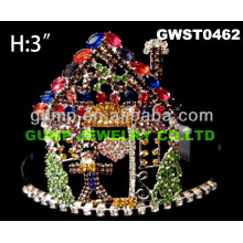 Gingerbread tiara and crown