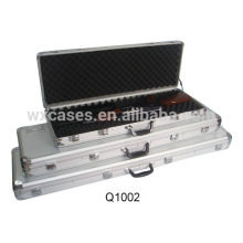 high quality aluminum shotgun gun case with foam inside manufacturer