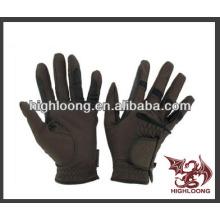 Baratos cómodos guantes ecuestres personalizados