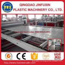 Línea de producción de lámina de espuma de corteza de construcción de PVC