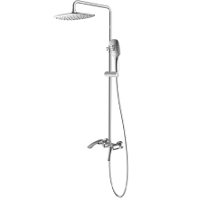 2-function thermostatic shower tap column set