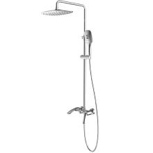 Conjunto de coluna termostática de 2 funções para torneiras de chuveiro