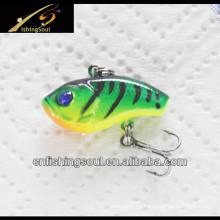 VBL024 colorido pequeños cebos de pesca de cebo de vibración