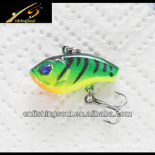VBL024 iscas de pesca de isca de vibração pequena colorida
