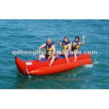 barco de banana material de pvc de 5 pessoas