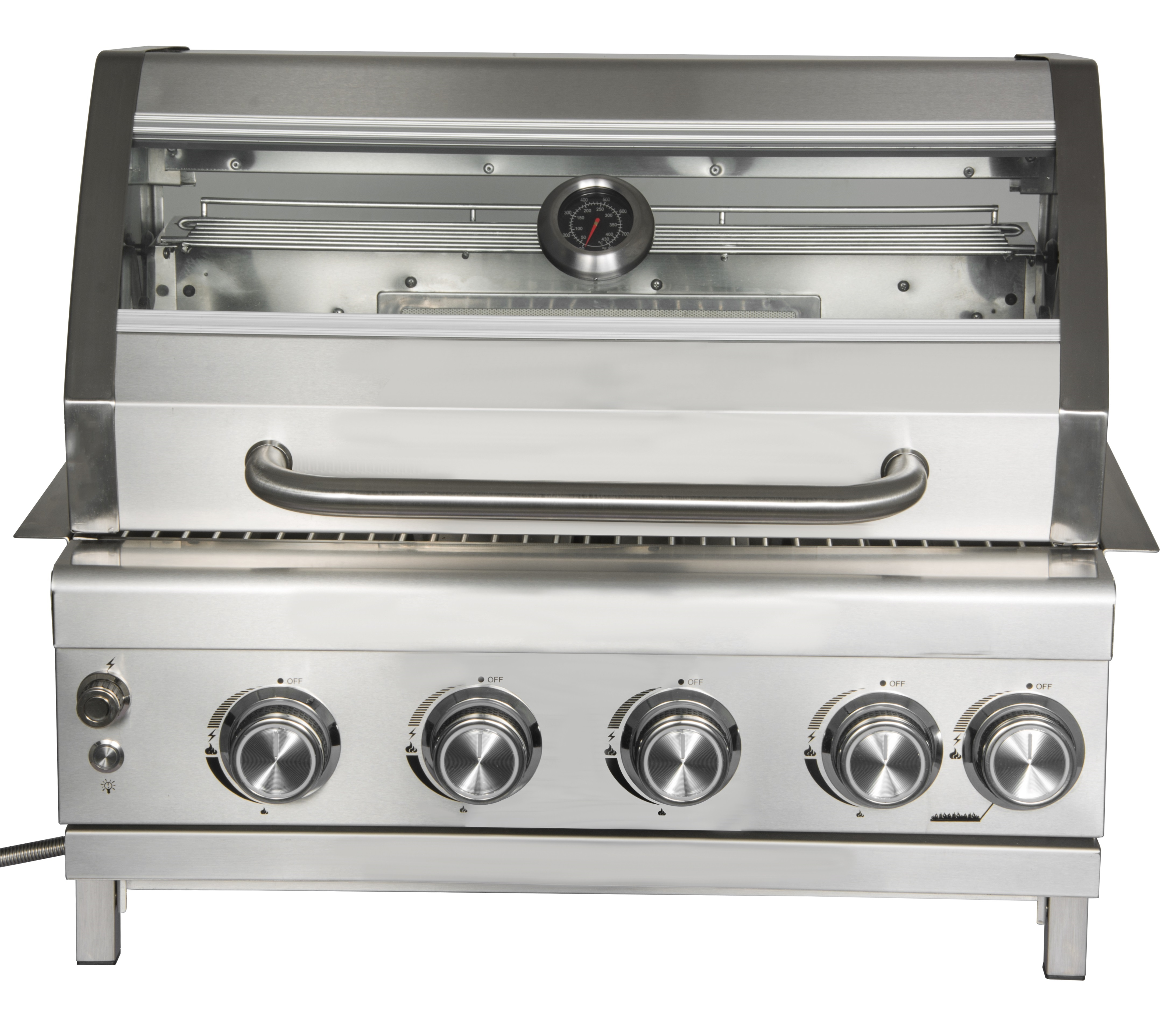 4 Burner Gas Grill Head