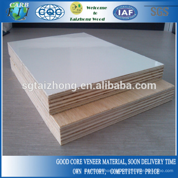 Furniture Grade White Polyester Plywood