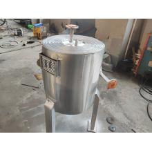 Intercambiador de calor de placas de sprial de ahorro de espacio de caldera de gas