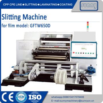 Slitting machines for various film in SHANTOU