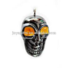 Petits pendentifs en squelettes humaines en hématite avec oeil Orang