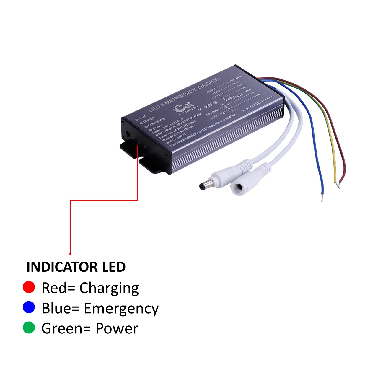 Led Driver With Emergency
