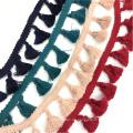 Mehrfarbiges Quastenband 3cm