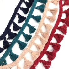 Cinta borla multicolor 3cm